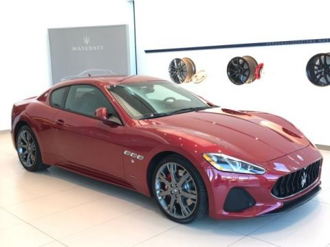 New 2018 Maserati GranTurismo Sport 4.7L With Navigation