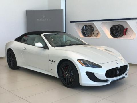 New 2017 Maserati GranTurismo Sport 4.7L With Navigation