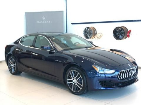 New 2018 Maserati Ghibli 3.0L RWD 4dr Car