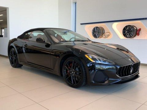 New 2018 Maserati GranTurismo Convertible MC